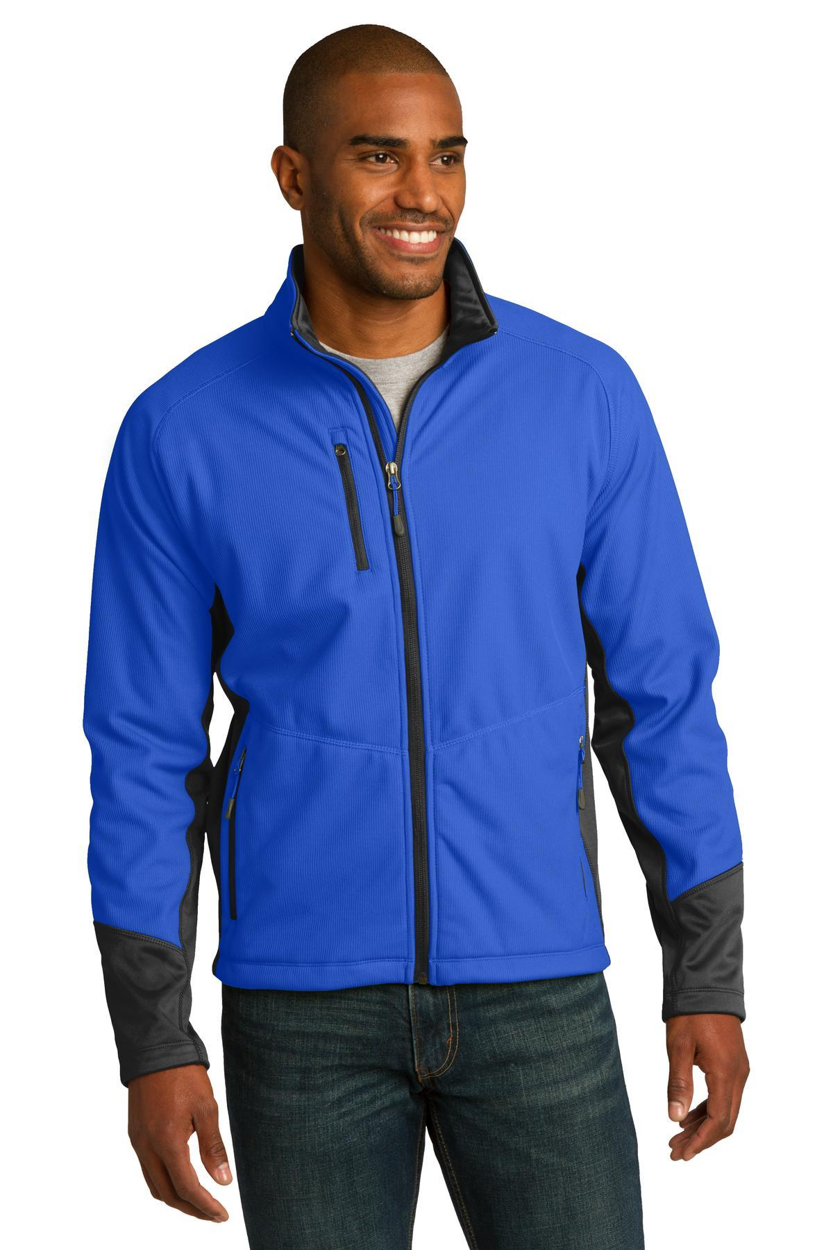 Port Authority Vertical Soft Shell Jacket. J319