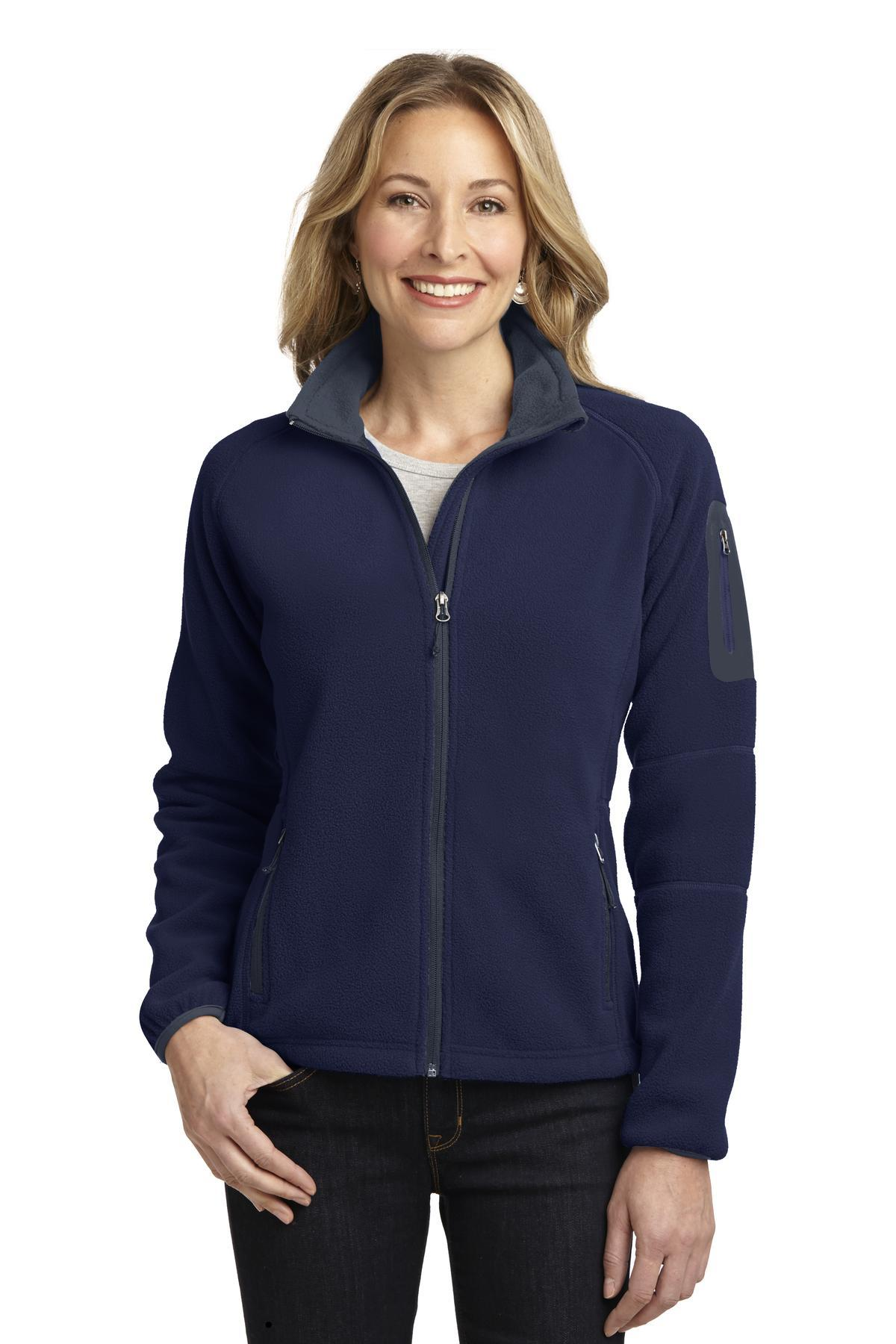 Port Authority Ladies Enhanced Value Fleece Full-Zip Jacket. L229