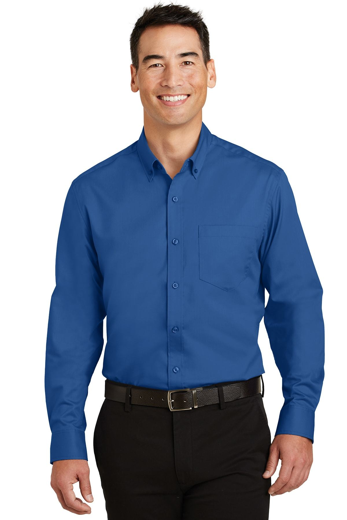 Port Authority® Tall SuperPro™ Twill Shirt TS663
